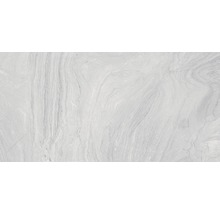 Carrelage pour sol en grès cérame fin Varana gris 45x90cm-thumb-0