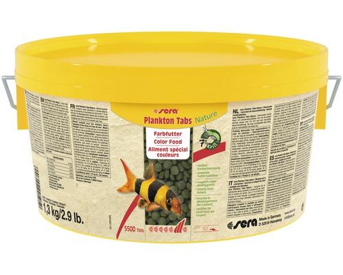 Farbfutter sera Plankton Tabs 1,3 kg