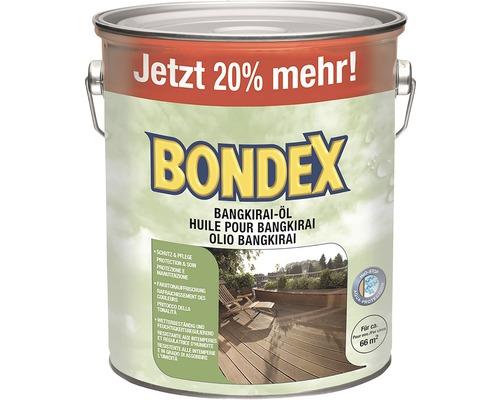Huile pour bois de bangkirai Bondex 3,0 l
