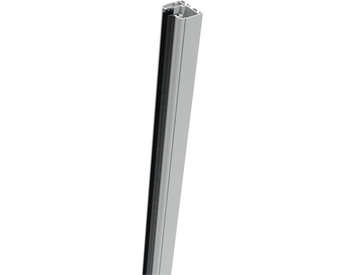 Rail de serrage Belfort à droite 181cm, argent-gris