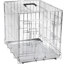 Cage de transport KARLIE double porte 77x47x54cm-thumb-0