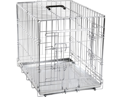 Cage de transport KARLIE double porte 77x47x54cm
