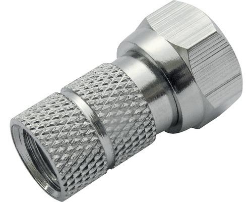 Fiche à visser F Ø 6.5 mm 10 pièces Schwaiger FST6510531