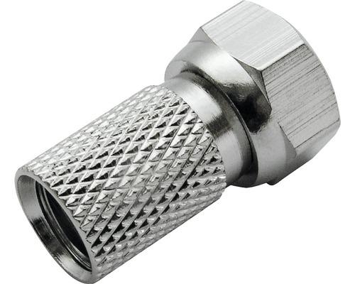 Fiche à visser F Ø 8mm 2 pièces Schwaiger FST8002531