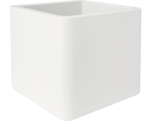 Pflanztopf elho Pure Kunststoff 50x50x49 cm weiß inkl. Rollen ...