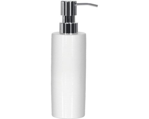 Distributeur de savon Spirella Tube-Ribbed blanc-0