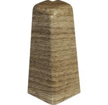 Angle extérieur noyer marron clair 60/18,5 (2 pièces)-thumb-0
