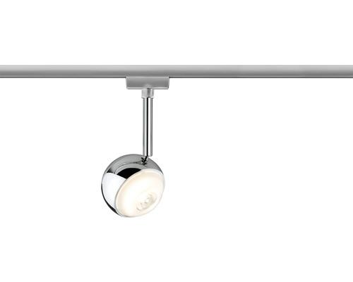 Spot LED URail Paulmann 1x4,5W 241 lm 2.700 K blanc chaud Capsule chrome mat 230V-0