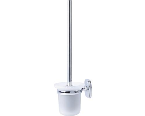 Pot à balai brosse pour WC Atlantic chrome