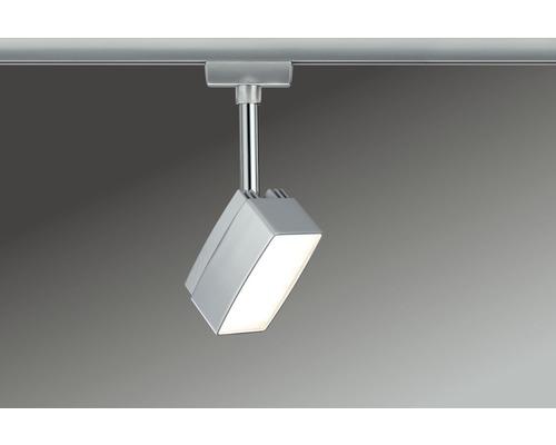 Spot LED URail Paulmann 1x5W 395 lm 2.700 K blanc chaud Pedal chrome mat 230V