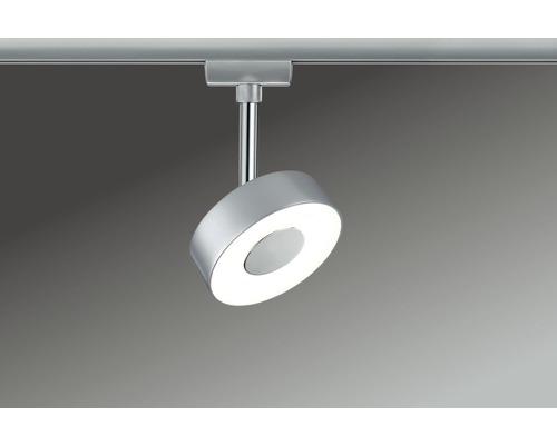 Spot LED URail Paulmann 1x5W 308 lm 2700 K blanc chaud Circle chrome mat 230V