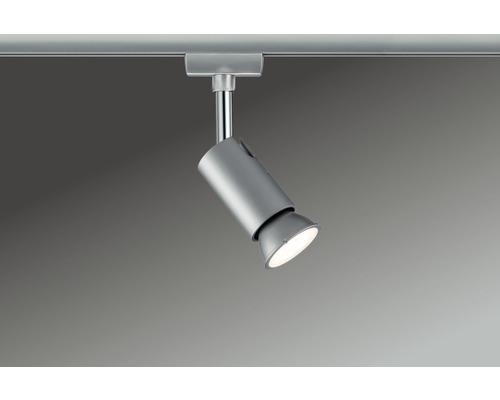 Spot URail Paulmann 1 ampoule Pure I chrome/mat 230V