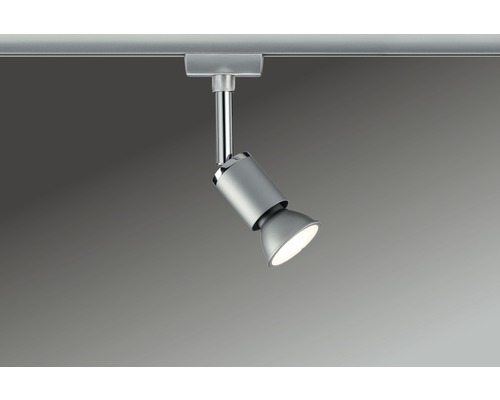 Spot Pipe URail Paulmann 1 ampoule Pure II chrome/mat 230V