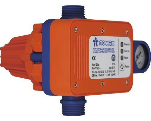 Interrupteur à bouton poussoir nowax Contrôle de la pression