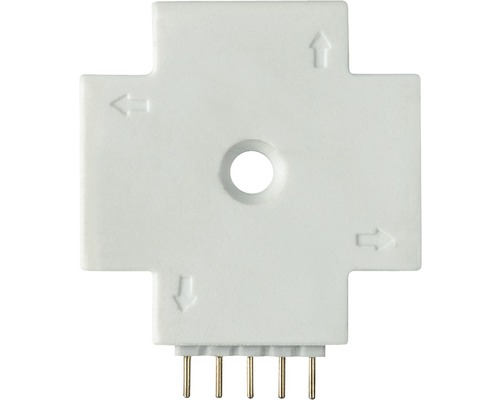 Connecteur en X MaxLED blanc 24V
