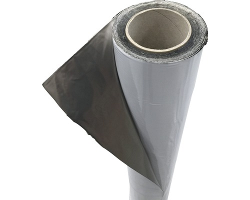Bande bitumée IKO Gardentop en aluminium rouleau 5x1m
