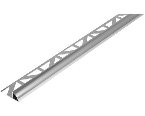 Profilé de finition quart de rond Dural Durondell DRAE 80 aluminium longueur 250 cm hauteur 8 mm