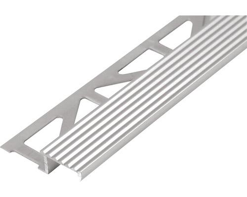 Profilé de marches d''escalier Durastep, aluminium, longueur 250 cm