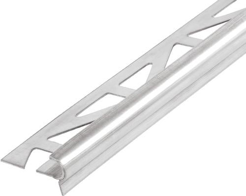 Nez de marche Dural Florentostep acier inoxydable longueur 100 cm hauteur 11 mm
