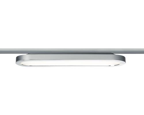 Panneau LED URail Paulmann 1x7W 812 lm 2700 K blanc chaud Loop chrome mat 230V