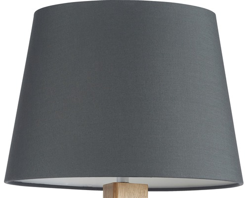abat jour pour lampadaire kuma gris fonc hornbach. Black Bedroom Furniture Sets. Home Design Ideas