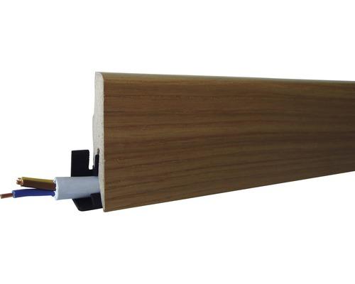Plinthe SL60 chêne n°1406 22x60x2600mm-0