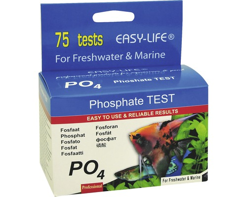 Wassertest Easy Life Phosphat SW/MW