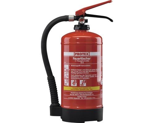 Extincteur Protex FBDP3 3 L à pression permanente pour feu de graisse