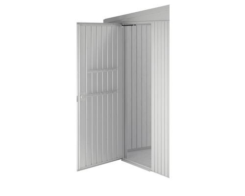 Porte supplémentaire biohort HighLine/Avantgarde/Panorama, argent métallique