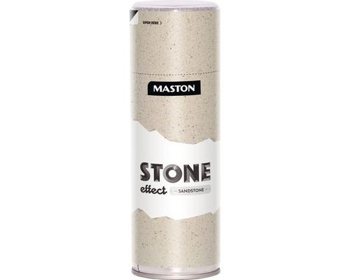 Spray effet grès Maston marron foncé 400 ml