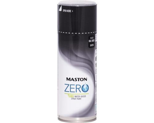 Laque à pulvériser Zero Maston noir 400 ml
