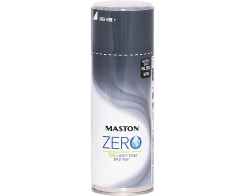 Laque à pulvériser Zero Maston noir graphite 400 ml