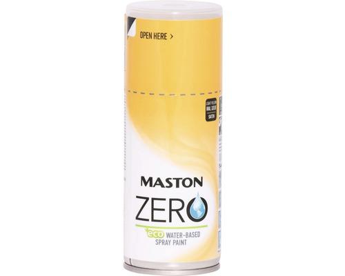 Laque à pulvériser Zero Maston jaune clair 150 ml