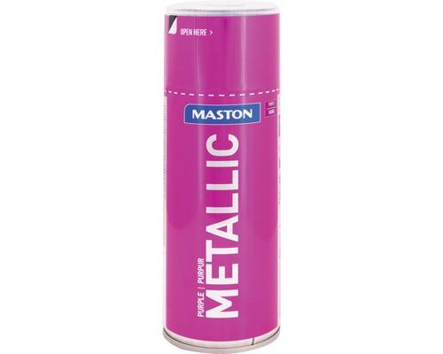 Peinture en bombe aérosol Maston metallic violet 400 ml