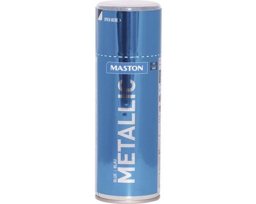 Peinture en bombe aérosol Maston metallic bleu 400 ml