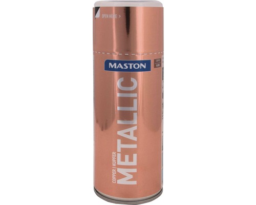 Peinture en bombe aérosol Maston metallic cuivre 400 ml