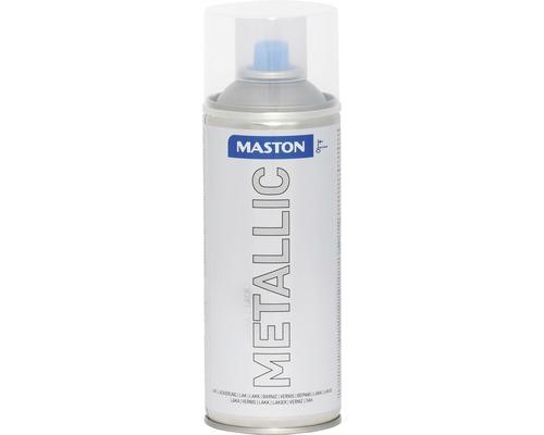 Peinture en bombe aérosol Maston metallic incolore 400 ml