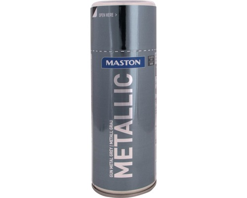 Peinture en bombe aérosol Maston metallic gris 400 ml