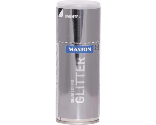 Spray effet scintillant Maston argent 150 ml