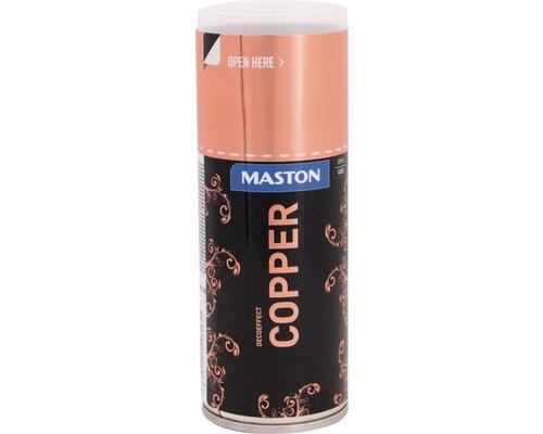 Laque à pulvériser effet déco cuivre brillant 150ml