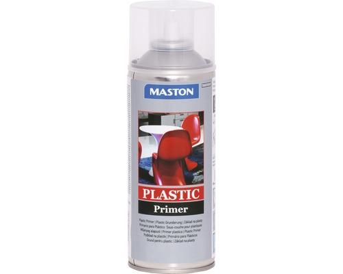 Spray d''apprêt plastique Maston incolore 400 ml