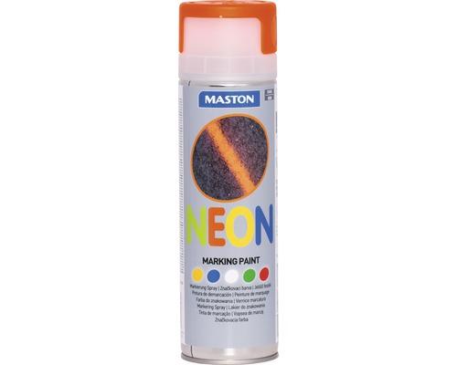 Sprühlack Maston NEON Markierungsspray orange 500 ml