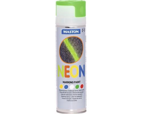 Sprühlack Maston NEON Markierungsspray grün 500 ml