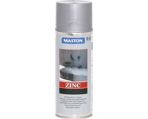 Spray de protection pour métaux zinc Maston gris 400 ml
