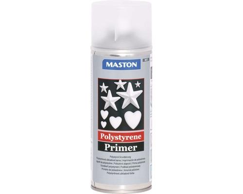 Spray d''apprêt polystyrène Maston gris 400 ml
