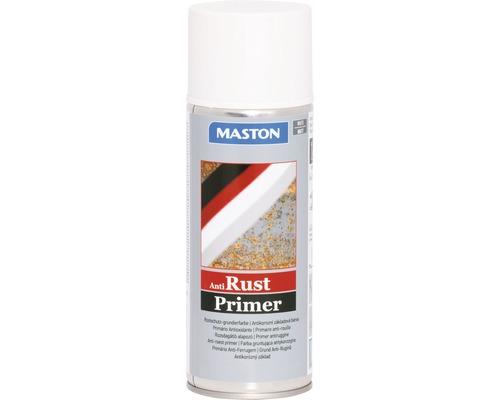 Spray d''apprêt contre la rouille Maston blanc 400 ml