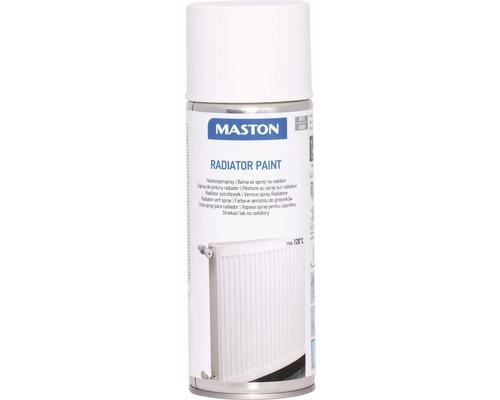 Spray pour radiateur Maston brillant blanc 400 ml