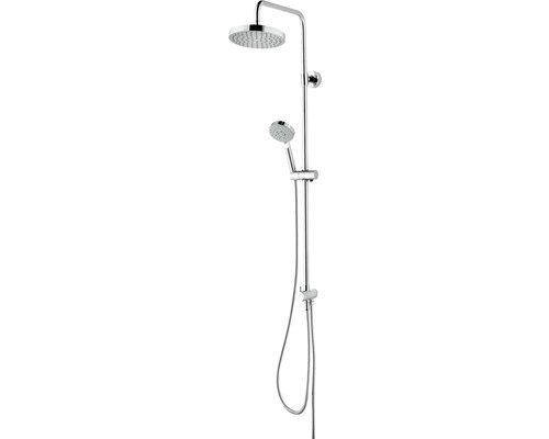 Duschsystem Schulte Modern DuschMaster Rain III D969262 02 chrom mit Umsteller