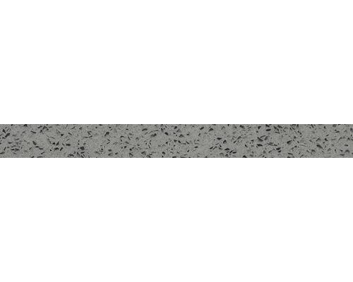 Socle en pierre de Quartz gris 60x6x1 cm