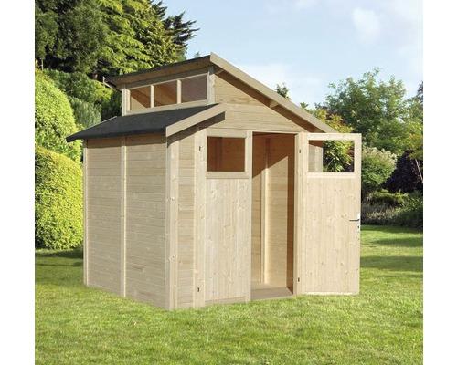 Studio Abri de jardin Basic, 210x202 cm, naturel